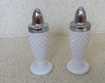 Westmoreland Milk Glass Shakers