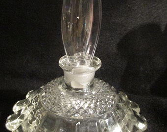 Vintage Perfume bottle - Crystal - from the estate collection of over 20 pieces - Estate Find!