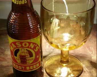 1954 Mason's Root Beer bottle