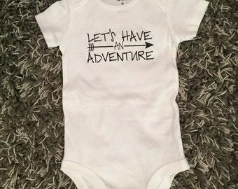 Lets Have An Adventure Onesie - Infant Bodysuit