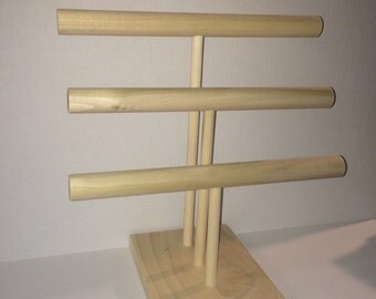 Jewelry Stand, Craft Show Display, Triple Tier.