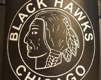 Chicago Black Hawks Yeti Decal