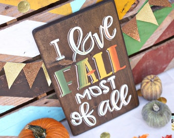 I Love Fall Most of All...The South Party