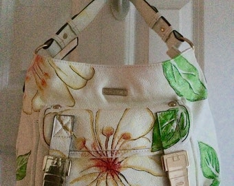 Hand Painted Purse- Day Break