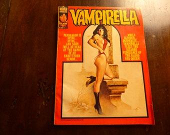 Vintage VAMPIRELLA Comic Book # 61 by Warren Magazine July 1977