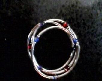 Set of 3 strechy bangle bracelets