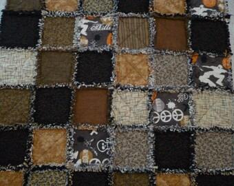 Flannel Ragged Edge Quilt