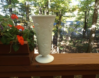 Vase With Grapes Etsy