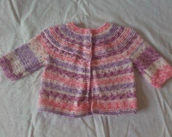 Hand Knitted Toddler Cardigan (1 - 2 Years)