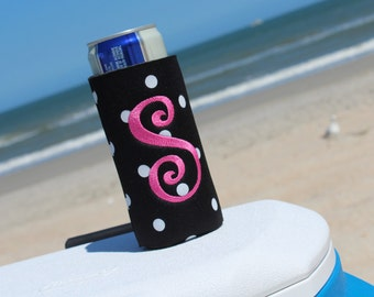 Personalized CAN CUDDLER ®& free KOOZIE ® with purchase-Select Can, Slim Can, Water Bottle, 8 oz, Beer Holder Size- Can Coolers