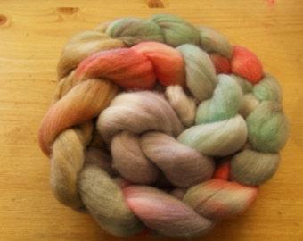 "Hand Dyed Merino Roving- ""Lullaby"" 3.63oz"