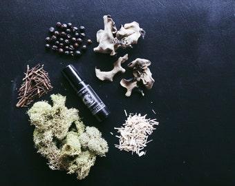 Wild Moss \\ All Natural Botanical Scent \\ Cologne Oil \\ Organic \\ Essential Oils \\ Vegan Fragrance \\ men's fragrance \\ moss oakmoss