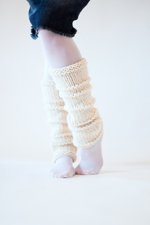 Knitting Patterns Leg Warmers Ballet : Dance Leg Warmers Knitting Pattern WHOLEHEARTED a set of