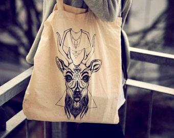 Deer canvas bag - Johnny Vince