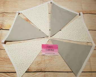 Bunting 4.5ft - Wedding Bunting - Heart Bunting - Decoration - Cake Smash - Kids Party - Kids Decor - Flags