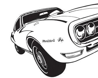 1968 Pontiac Firebird Classic Muscle Car