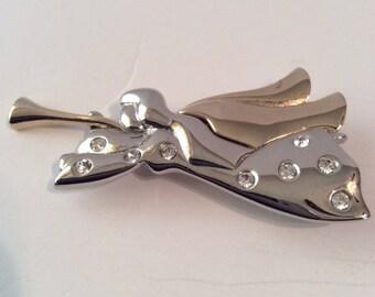 Angel brooch 2-1/2 in