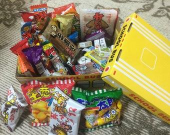 Japanese dagashi candy 60pcs set for child from japan