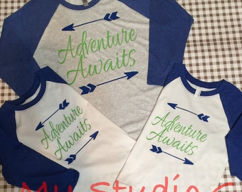 Adventure Awaits spring break shirt!