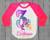 My Little Pony Birthday Shirt