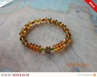 Golden Buddha Bracelet