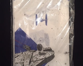 Star Wars 1997 paper party tablecloth