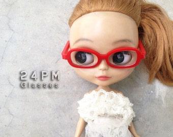 Soul Red Nerd Glasses- cool Love - best selling
