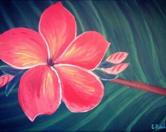 The spirit of the frangipani