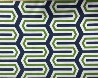 od cadee navy green fabric sold by half yard