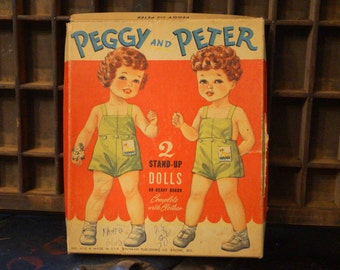 Peggy & Peter Paper Doll Set