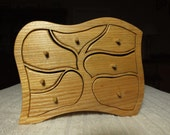 Another of our seven drawer Tree Pattern Chests made in Scottish Ash.