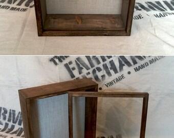 14x17 shadow box extra deep display case 4 inches deep rustic shadowbox