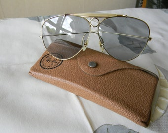 2fd0a53b75c True Vintage Rare Legendary Ray-Ban Bausch And Lomb Shooting Glasses