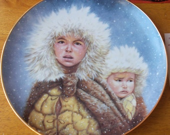 Vintage Gregory Perillo Christmas Journey Collector's Plate Artaffects 1991