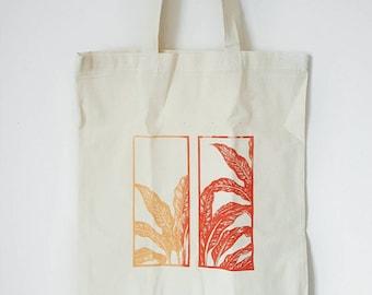 Gradient Screenprinted Tote Bag
