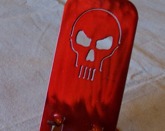 Custom Skull Cell Phone Stand, iPhone, Droid, Charging Station.