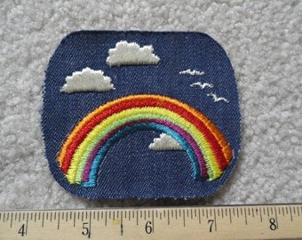 Rainbow and Clouds   Patch