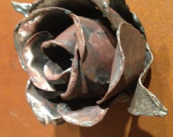 Decorative Metal Rose Magnet