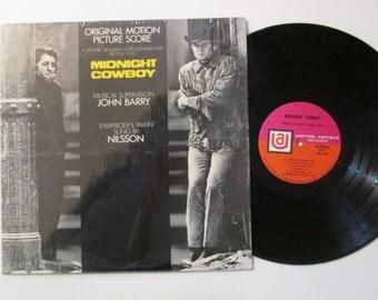 Vinyl Record Midnight Cowboy Soundtrack LP Album