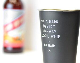 Cool whip in my hair - Mistaken Lyrics Pint Glass