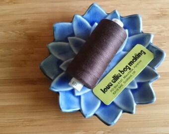 SEWING THREAD Dark Brown Moon polyester thread - 1 spool - All Purpose Sewing Thread - Coats Moon Thread - Colour - M081