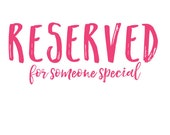 Reserved for Laura T