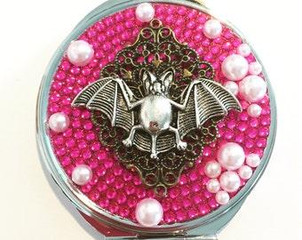 Bat Compact  Mirror