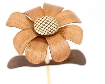 Wooden Flower - Individual Little Dukes - Cherry