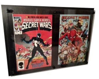 2 wide Comic Display