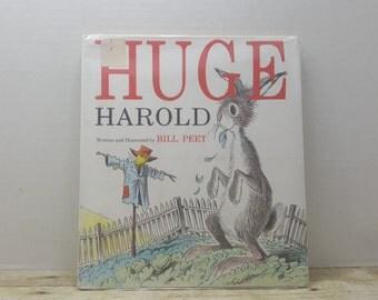 Huge Harold, 1989, Bill Peet, vintage kids book