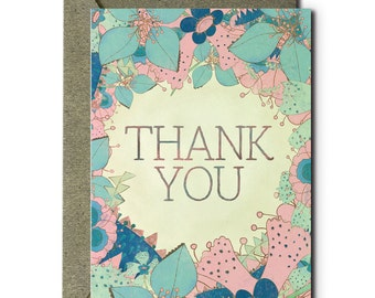 Thank You - Greeting Card