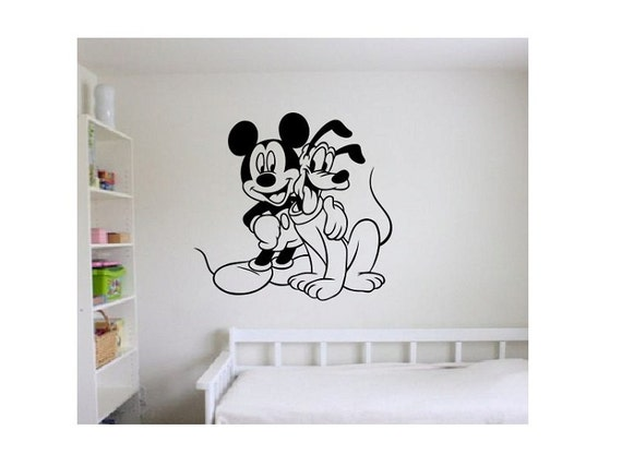 Mickey Mouse Wall Decal Sticker Large Kids Bedroom Big