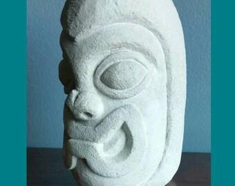 Hawaiian tiki head souvenir