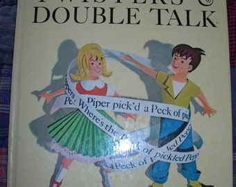 The Big book Of Tongue Twisters & Double Talk By Arnold Arnold